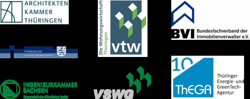 Logos der Institutionen