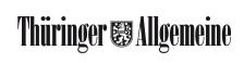 Logo der Zeitung: Thüringer Allgemeine