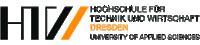 [Translate to English:] Logo der Hochschule für Technik und Wirtschaft Dresden (HTW)